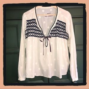 Odd Molly Embroidered Blouse